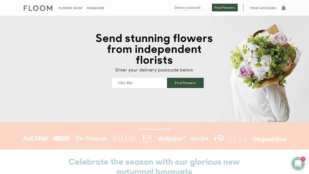 Floom - Independent Florist Marketplace