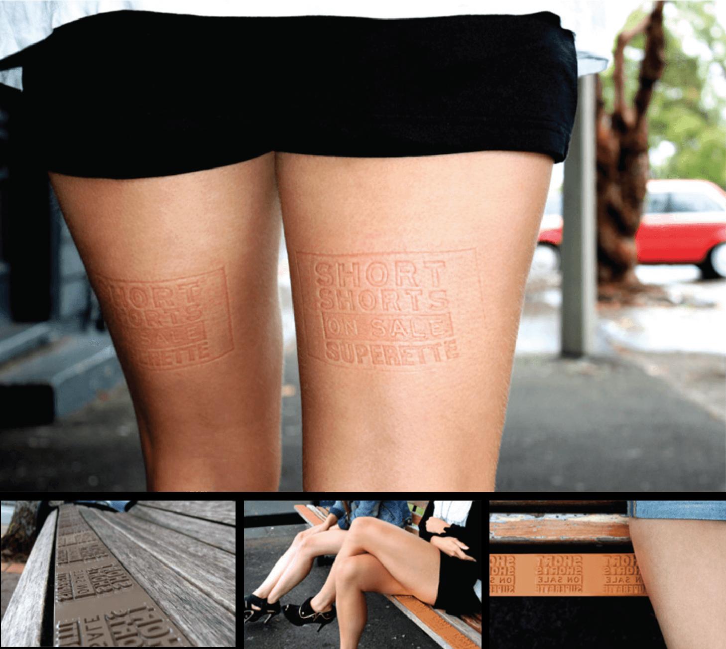 Short Shorts Leg Stamps - Superette